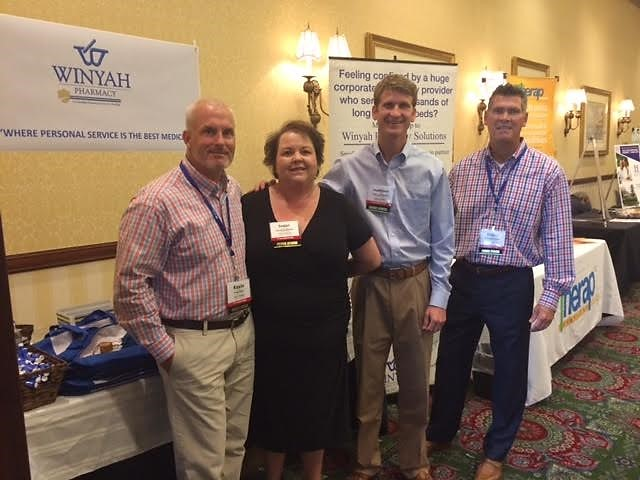 From left to right: Kevin Dixon, Susan Lecklitner, Matthew Stanley, and David Whitlock