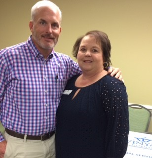 Left to Right: Kevin Dixon, Sales Director, Susan Lecklitner, Account Manager
