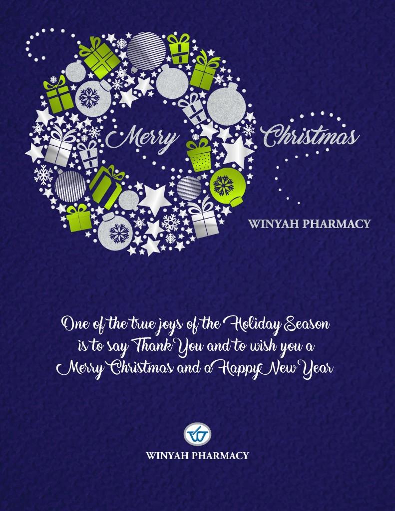 Winyah Christmas Card 2016