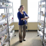 Guardian Pharmacy technician fills an order