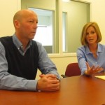 Dean Jacobs and Courtney Oland, co-owners of Waltz Long Term Care Pharmacy