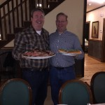Rich Eakins, vice president of sales, and Chad Downey, vice president of treasury and internal audit.