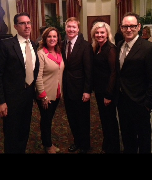 From l to r:  Rob Taymans, president/owner of Guardian Tampa; Ali Wiggins, director of sales and marketing at Guardian NWFL; Adam Putnam, Florida commissioner of agriculture; Amber Gullett, clinical care specialist at Guardian NWFL; Bobby Dunn, president/owner at Guardian NWFL.