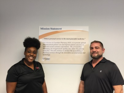 Isa Brown, billing supervisor and Shawn Neel, collections specialist.
