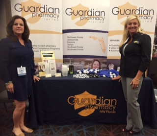 Ali Wiggins, director of sales and marketing and Amber Gullett, RN, BSN, clinical care specialist/nurse account manager.