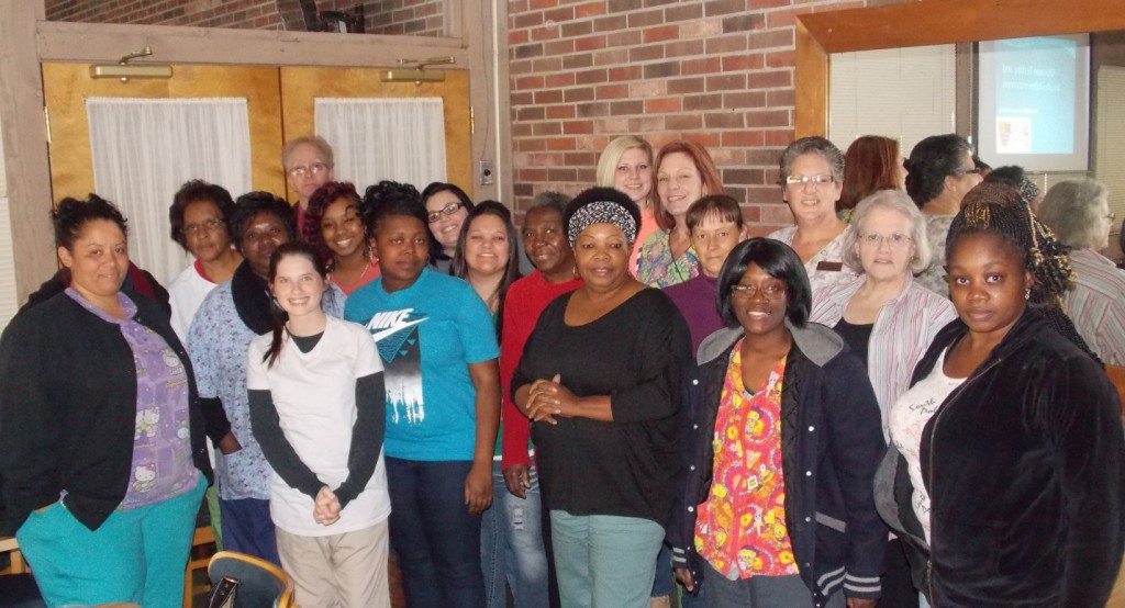 Staff from several facilities that we service attended our last proxy training of 2014.
