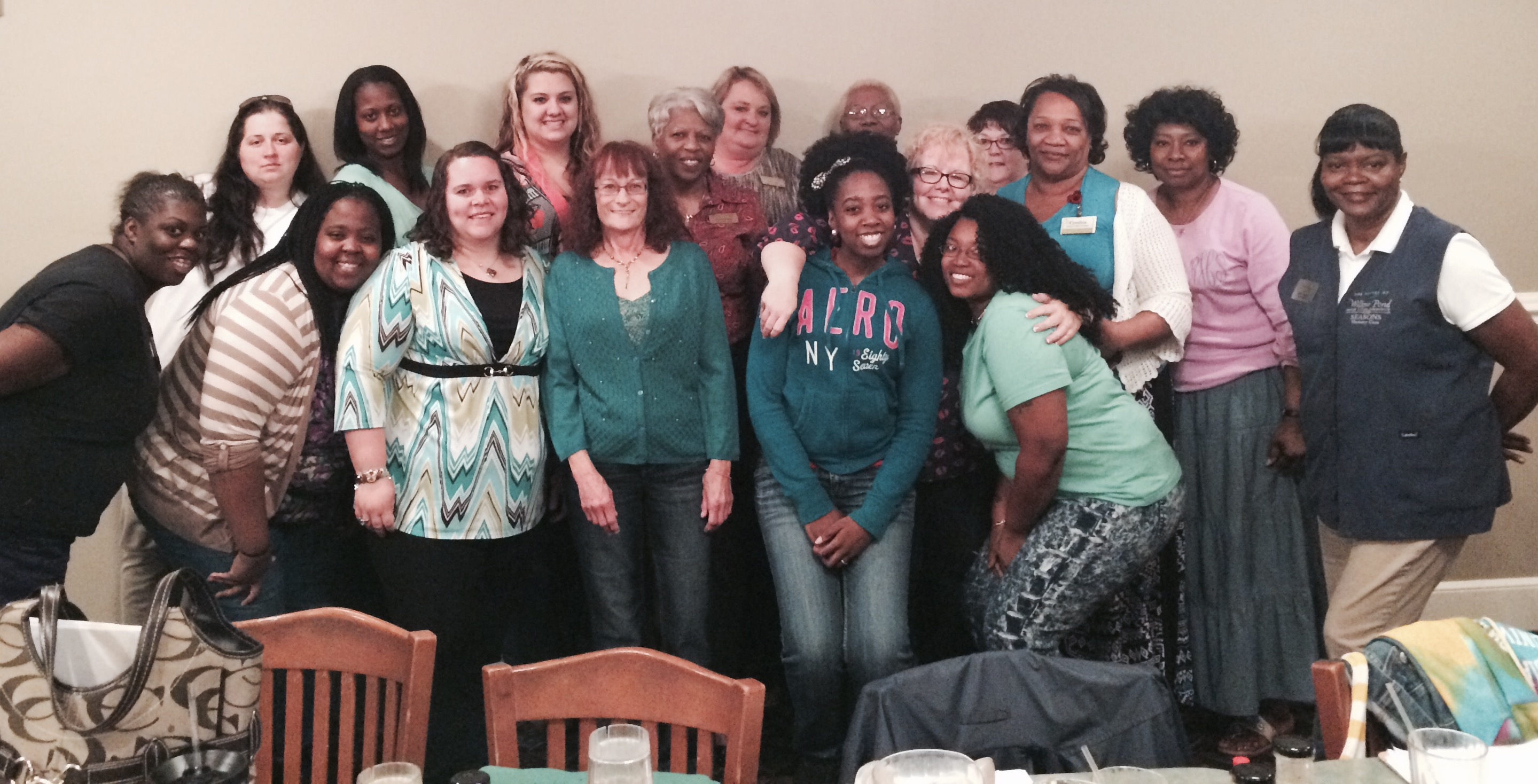 Attendees from our April 7 training course.