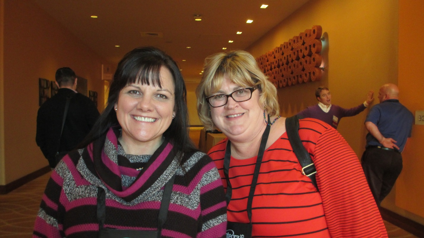 Jodi DiNello, president, and Lisa Lassiter, operations manager.