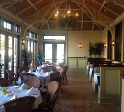 The private dining area for the SPS-sponsored dinner during the ALAA 2015 Spring Conference.