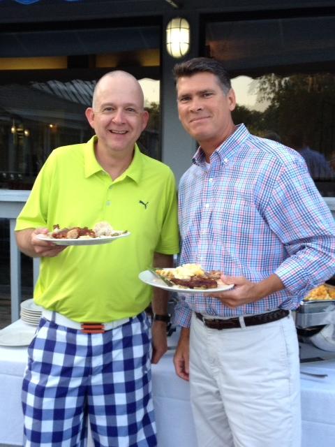 (L-R) Greg Thompson, regional vice president of Premier Senior Living, and David Whitlock, president of Winyah Pharmacy