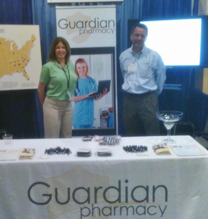Debbie Schulman, Marketing Manager, Guardian of Southeast Florida and Matt Depenbrock, Regional Vice President, Business Development