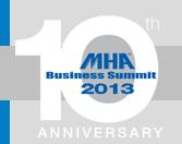 MHA Business Summit 2013