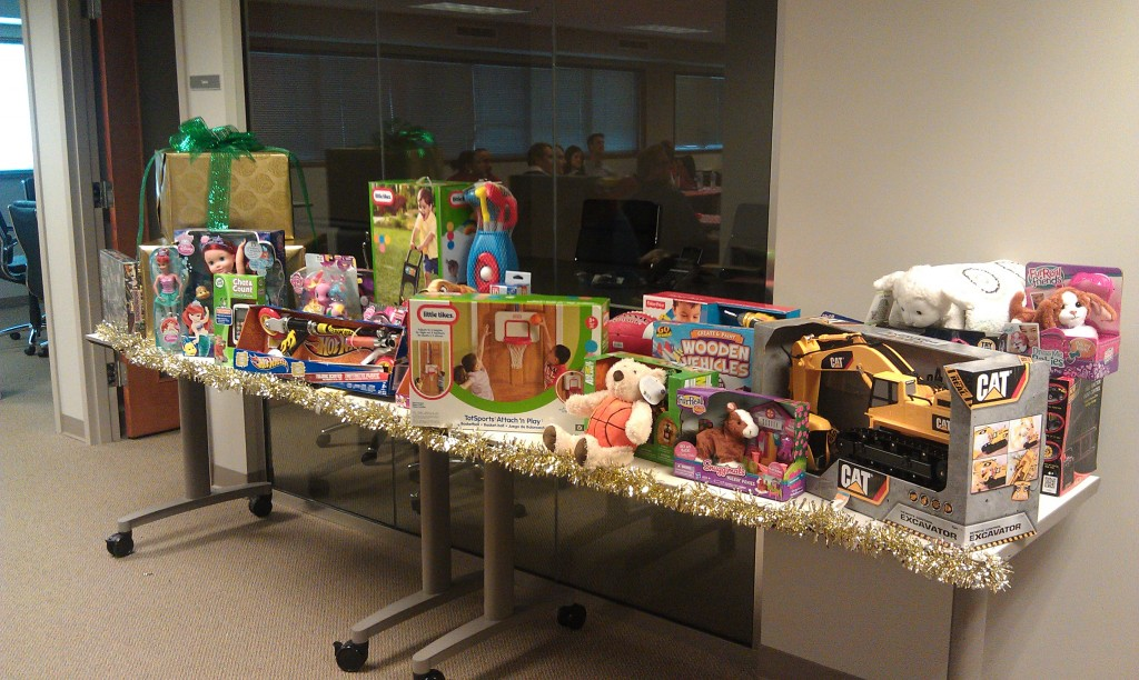 Donations to Toys for Tots