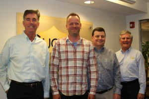 From left to right: Kendall Forbes, Michael Counts, David Morris, Fred Burke